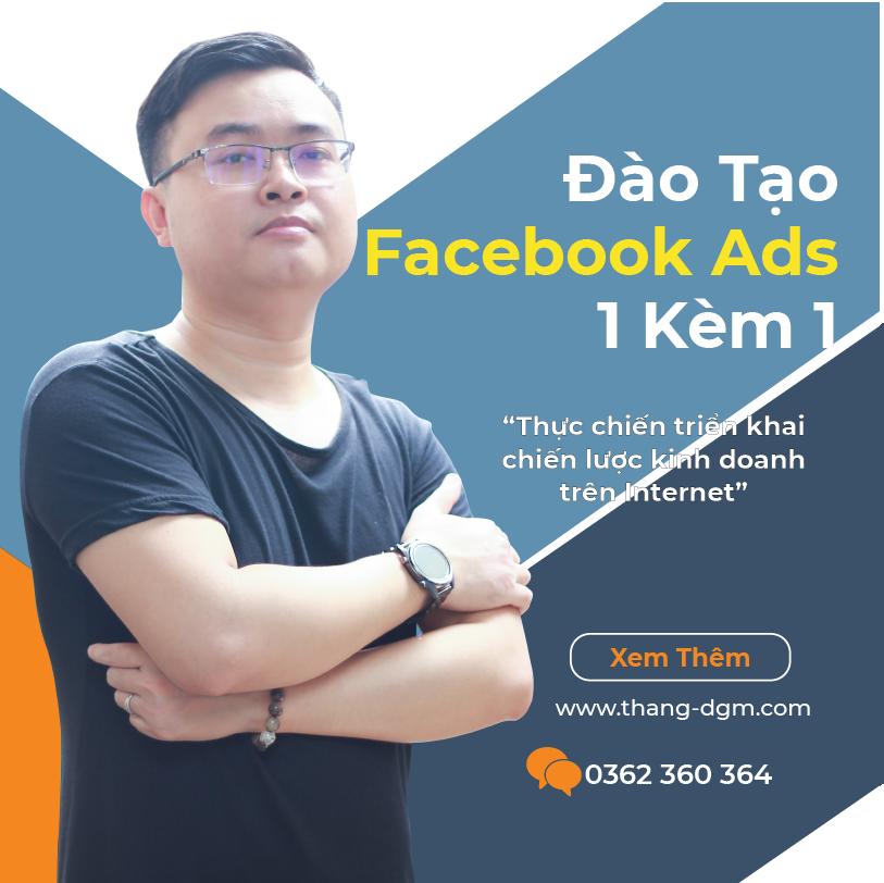 dịch vụ đào tạo quảng cáo facebook ads 1 kèm 1