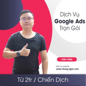 dịch vụ quảng cáo google ads trọn gói